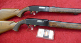 Pair of Late Production 22 Rifles