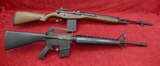 Pair of Replica Firearms M14 & M16