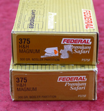 Lot of 375 H&H Ammo