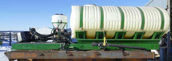1600 gal Tender Tank w/Pump