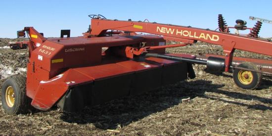 1431 New Holland Discbine 14 ft Rubber Rolls
