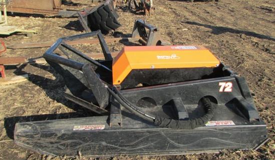 """Skid Pro 72"""" brush Mower"""
