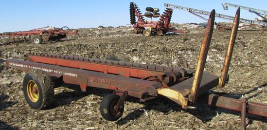 Farmhand 3 Big Bale mover w/ hydraulic swing