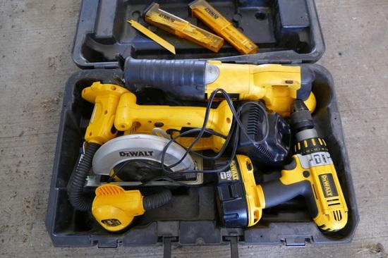 DeWalt 18volt Tool Kit