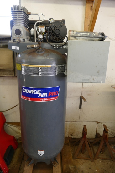 6.5 HP 60 Gallon Vertical Air Compressor