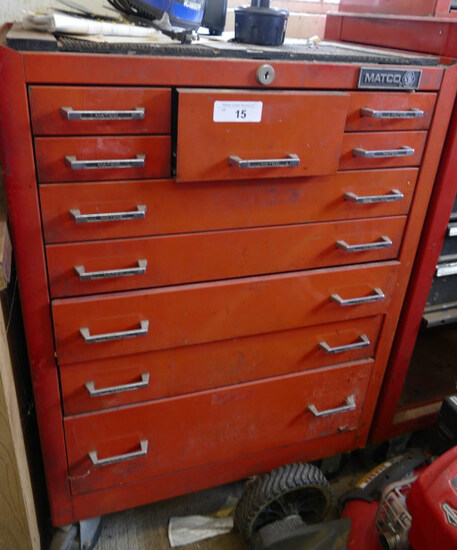Matco 10-Drawer Tool Cabinet Base