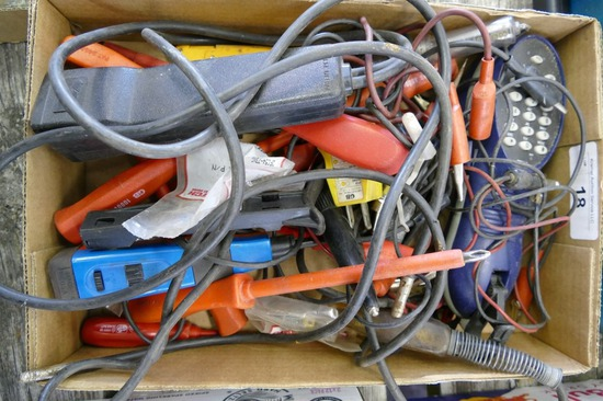 Box of Electricians Tools
