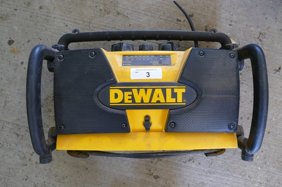 DeWalt Shop Radio