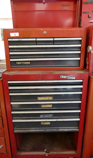 Craftsman Stackable 11 Drawer Tool Cabinet