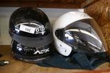 3 Motorcycle Helmets