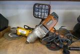 Electric DeWalt Grinder & Rigid 1/2