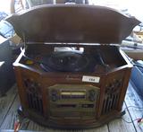 Emerson Record Player, Radio, CD, & Cassette