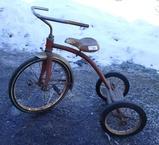 Vintage Metal Big Wheel Tricycle