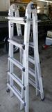 Gorilla Articulating Ladder w/Bracket Accessories