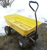 Vigoro Garden Dump Cart