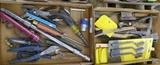 2 Flats of Misc Tools