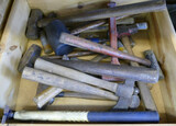 Lot of Hammers, Hatchets, & Mauls