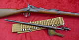 US Springfield Trapdoor Rifle Bayonet & Cart. Belt