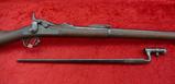US Springfield Trapdoor Rifle & Bayonet