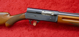 Early Belgium Browning A5 w/Solid Rib Bbl