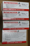 800 rds Winchester 9mm FMJ Ammo