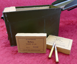 330 rounds Lake City 30-06 M2 Ball Ammo in can