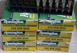 130 rds of 338 WIN Mag Remington Ammo