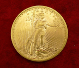 1910-D US $20 Gold Coin