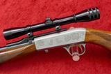 Browning Grade II 22 Take Down Rifle w/scope