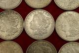 Lot of 20 1921 Morgan Silver Dollars (B)