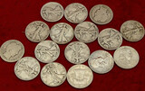 Lot of Silver US Half Dollars