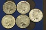 Lot of Silver Washington Quarters & Kennedy Halves