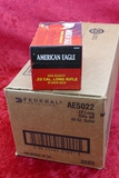 5000, round case of Federal 40 GR Solid 22LR Ammo