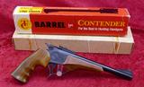 Thompson Center Contender w/45 Colt & 30-30 bbls