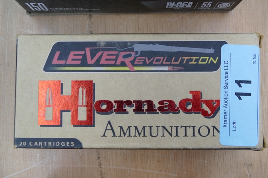 20 rds of 45-70 Hornady Leverevolution Ammo