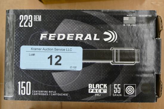 150 ct Federal 223 Ammo