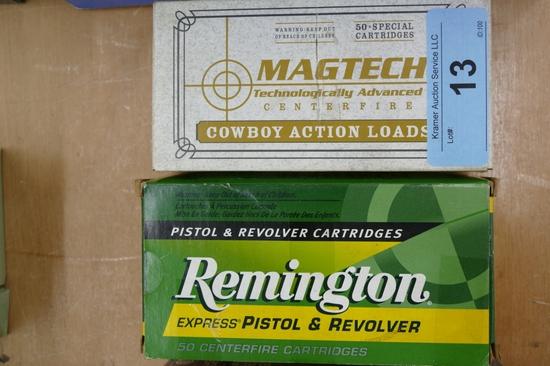 100 rds Remington MagTec 45 Colt Ammo