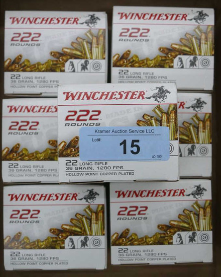 1554 rds Winchester 22 LR Ammo