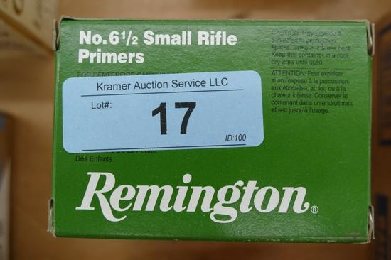 3000 ct Remington Small Rifle Primers
