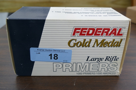 700 ct Federal Gold Medal Large Rifle Primers