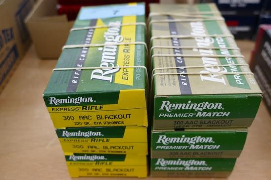 120 rds Remington 300 AAC Blackout Ammo