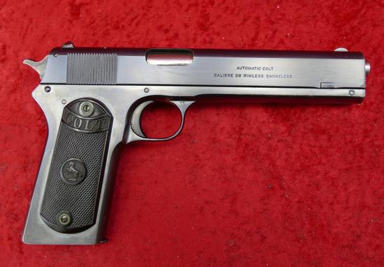 Colt Model 1902 Military 38 cal Semi Auto Pistol