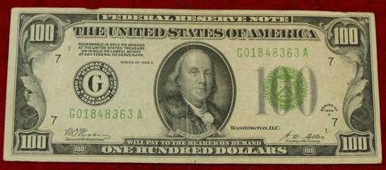 1928 Series $100 Bill