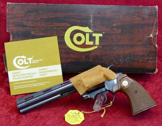 NIB Colt 22 cal Diamondback Revolver