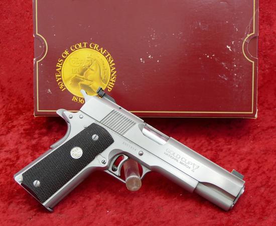 Colt Gold Cup National Match Series 80 45 Pistol