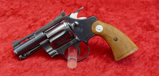 "Colt Diamondback 22LR w/rare 2 1/2"" bbl. mfg 1969"
