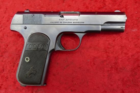 Colt 1903 Pocket Hammerless Auto Pistol