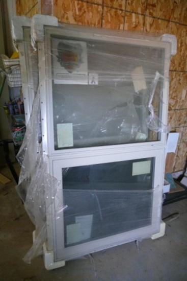 Pair of 3ftx5ft Anderson Double Hung Window
