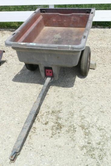 Rubbermade Tow Behind Dump Cart