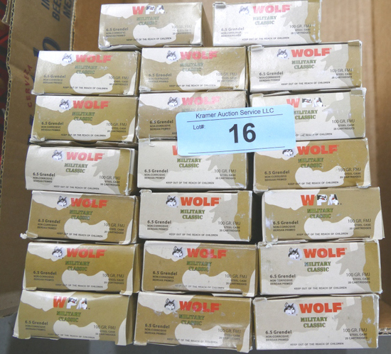 Lot of 400 rds 6.5 Grendel Ammo